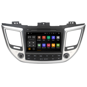"8 ""Android Car DVD Player ile TV/BT GPS 3G WIFI DVR, Araba PC/multimedya ana ünite Ses/Radyo/Stereo Hyundai TUSKON/IX35"