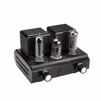 Douk Audio Mini Vacuum&Valve Single-Ended Class A Tube Amplifier Stereo Desktop Power Amp 2.5W*2 Pure Handmade